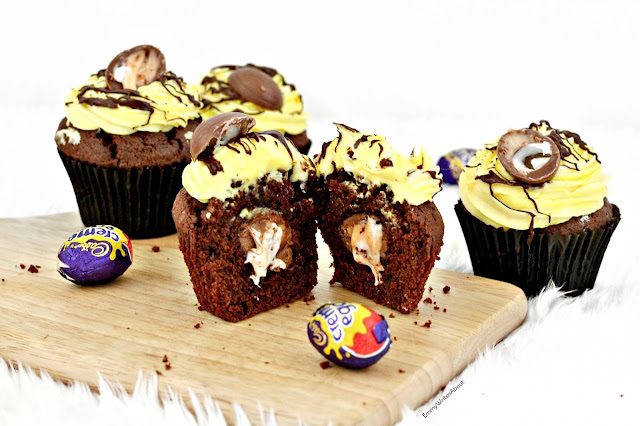 Cream Egg Cupcakes Recipe