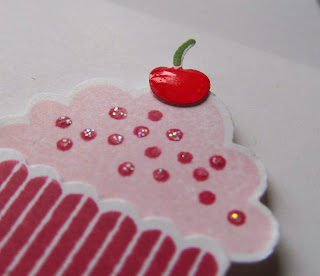 Create a cupcake Jenny McCormac Stampin Up