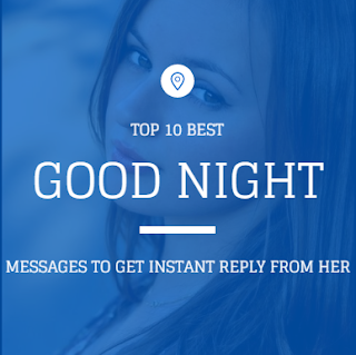 good night flirt sms