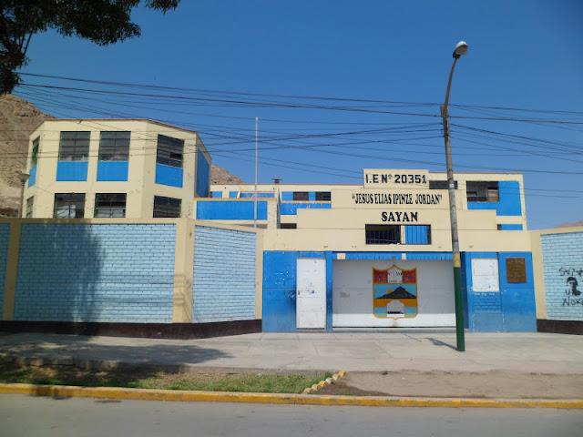 Resultado de imagen para COLEGIO MANUEL TOVAR DE SAYAN