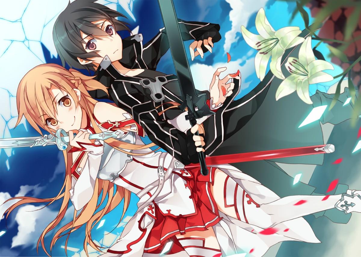 Alternate Realities: Sword Art Online Kirito And Asuna