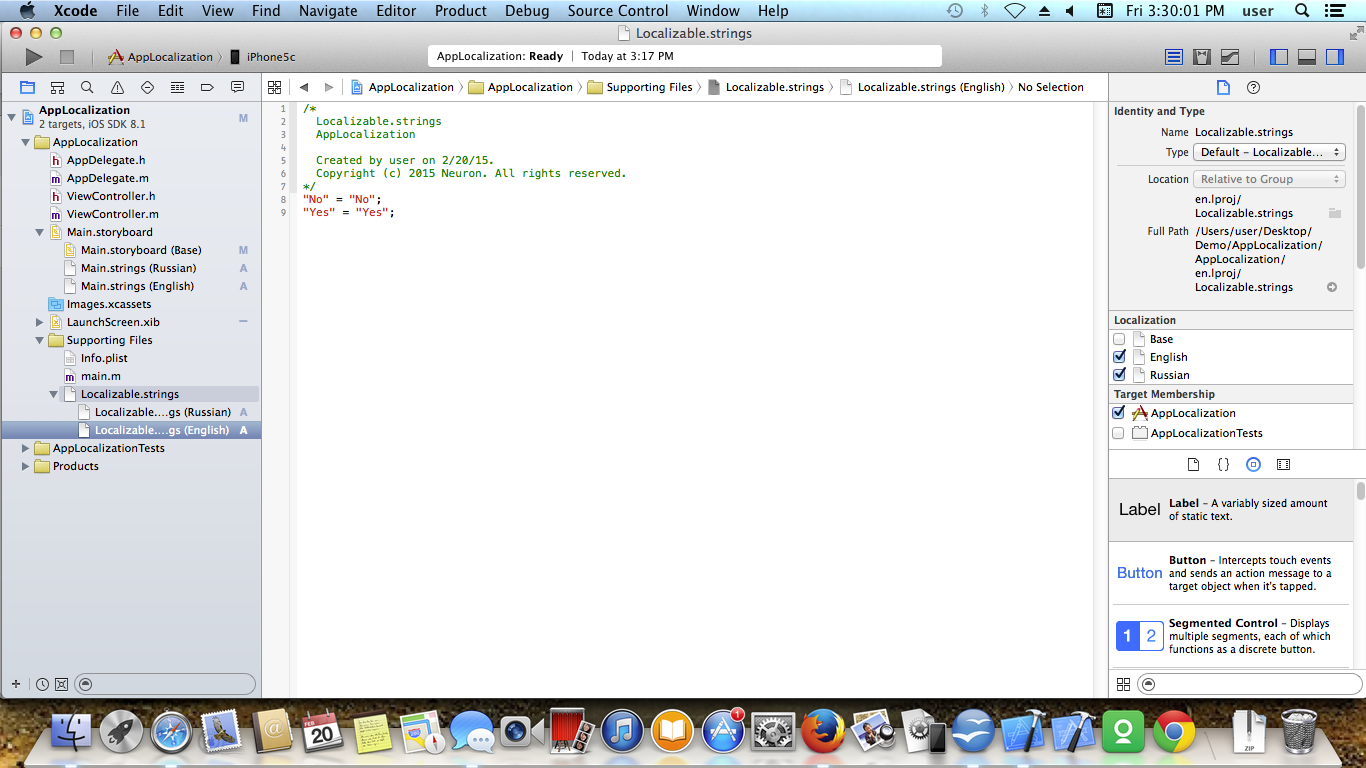 IOS APP LOCALIZATION Screen 7