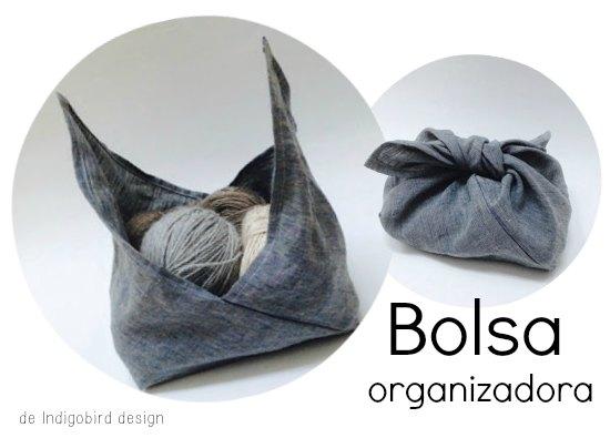 bolsas, origami tela, manualidades, diys