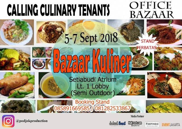 bazar kuliner setiabudi jkt 2018