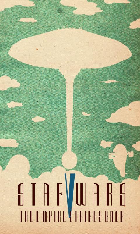 The geeky nerfherder movie poster art star wars the for Art of minimal boris