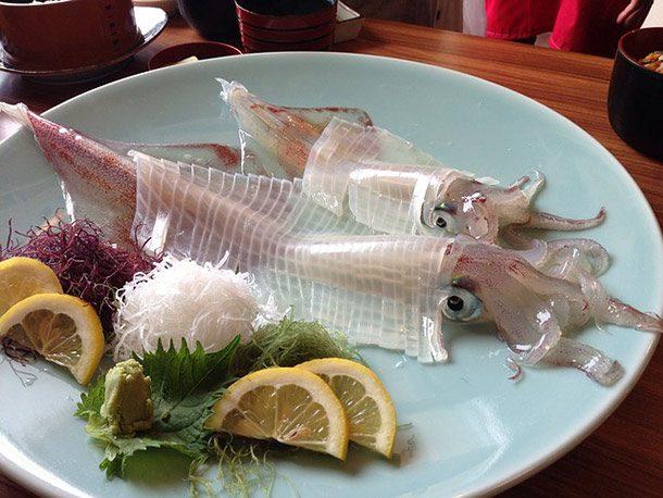 أغرب الأكلات و الاطعمة اليابانية بالصور