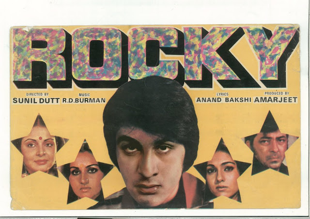 ranbeer in rocky movie poster