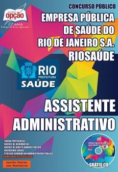 Apostila RIOSAÚDE Assistente Administrativo