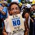 Oficialismo y oposicionismo protestan contra la crisis