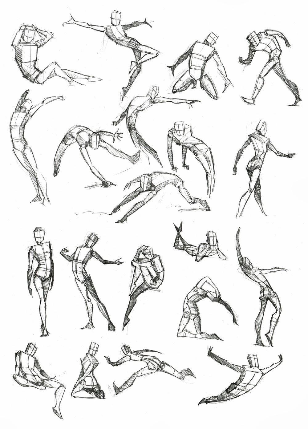 Male Full Body Movement Diagram, Male, Free Engine Image