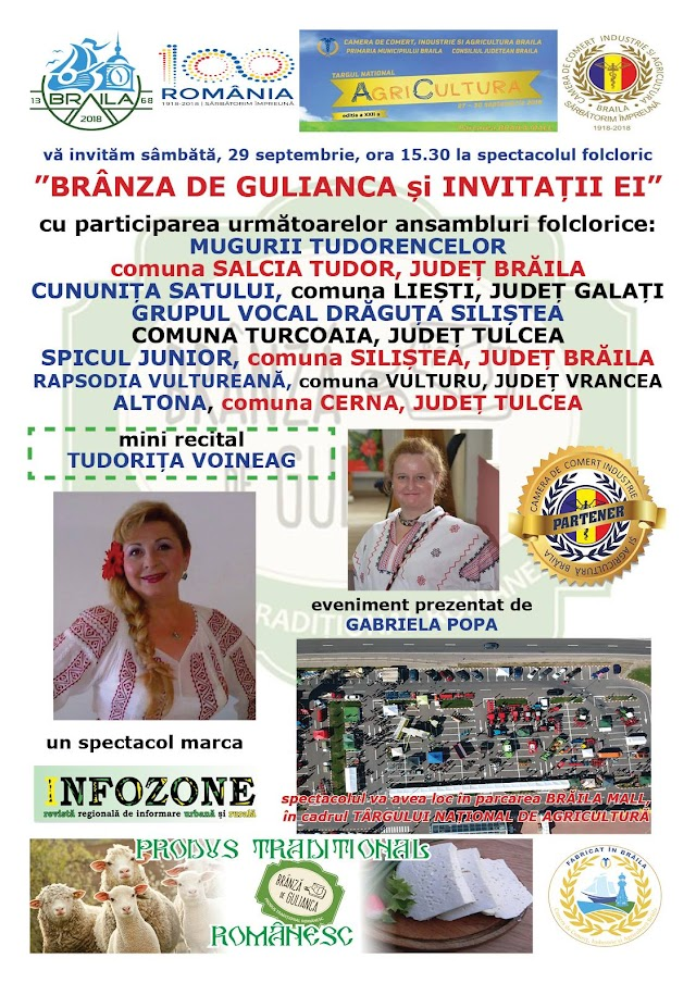 Spectacol folcloric BRANZA DE GULIANCA si INVITATII EI