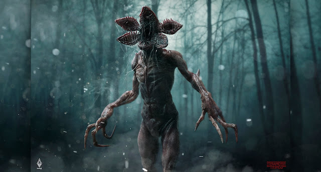 Stranger Things, Demogorgon, Facts about Stranger Things, Horror, Science Fiction, TV Shows, Stephen King Store