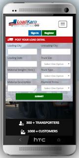Truck Booking Online