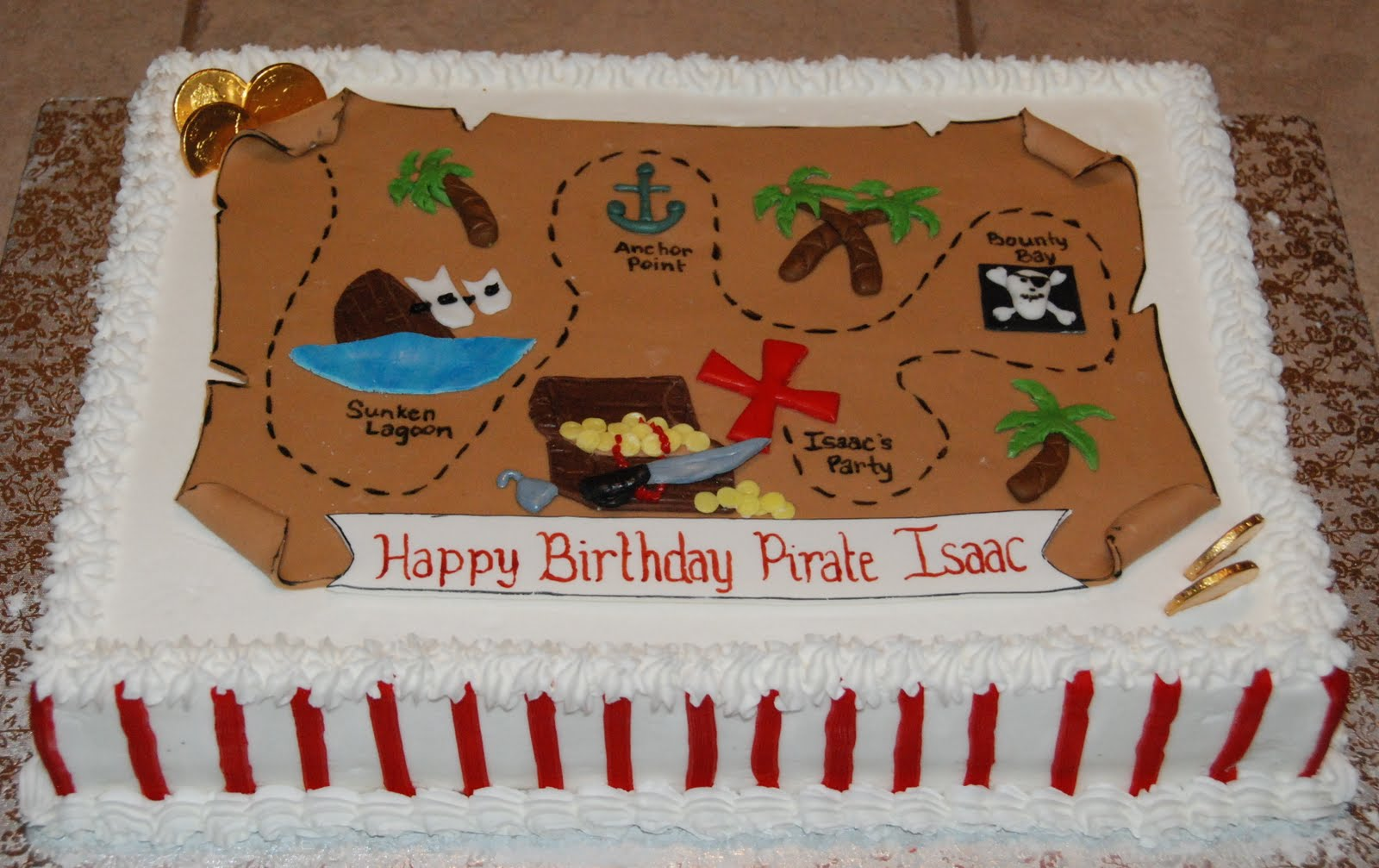Cake Creations By Trish Pirate Party