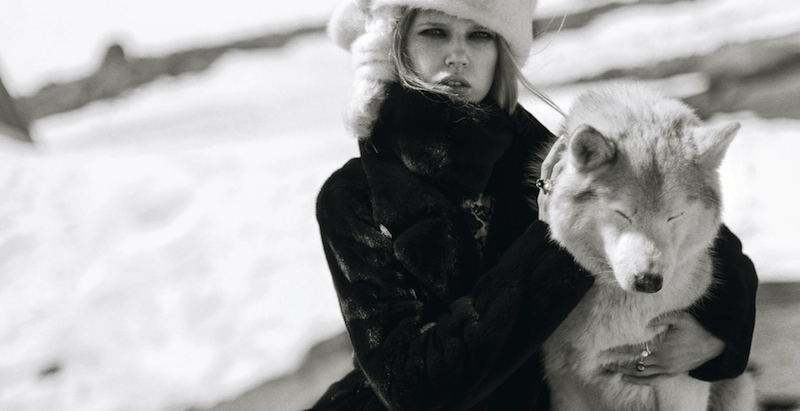 winter heats up: ola rudnicka by norman jean roy for us harper's bazaar november 2015