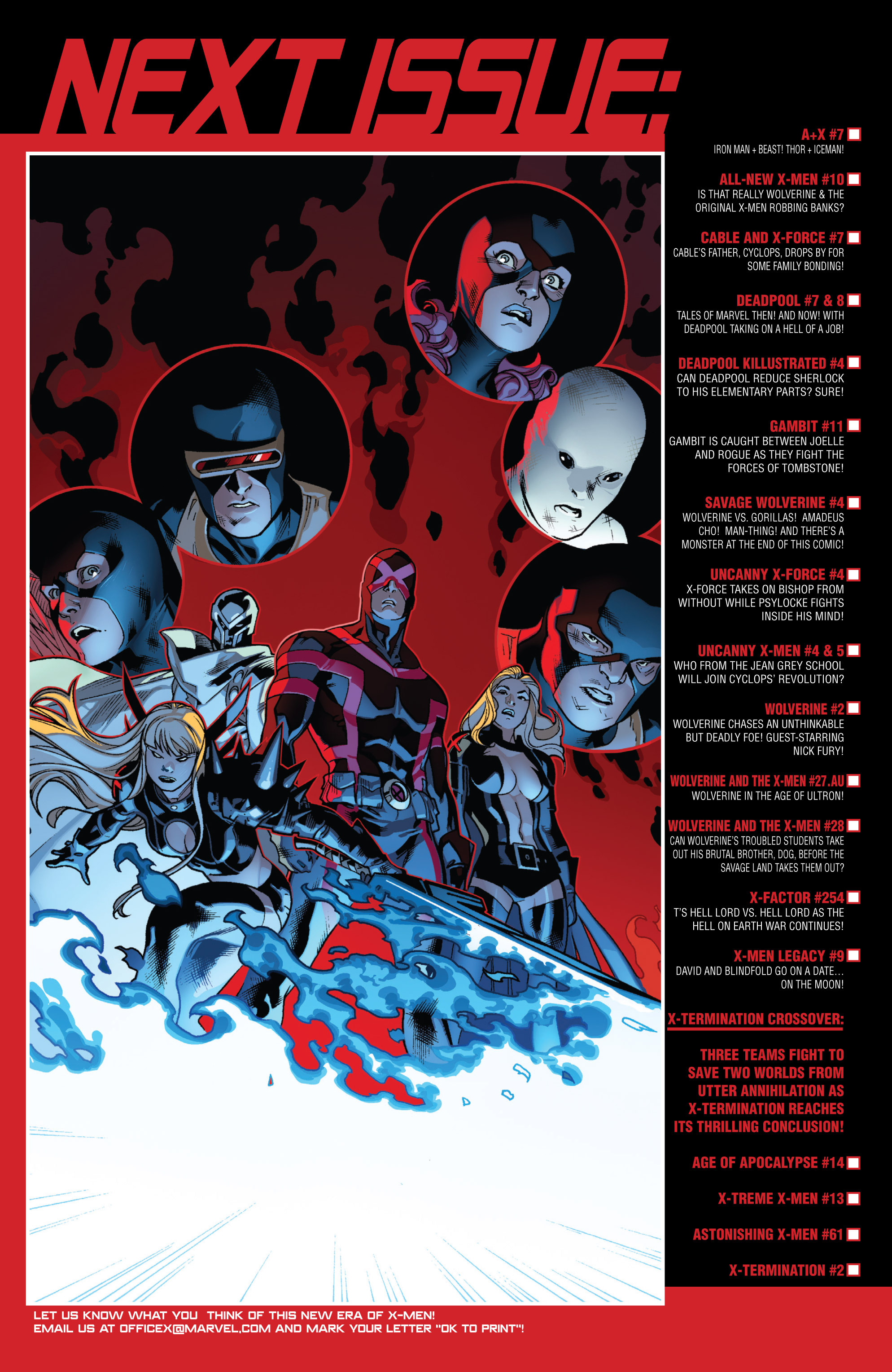 Read online All-New X-Men (2013) comic -  Issue # _Special - Here To Stay - 108