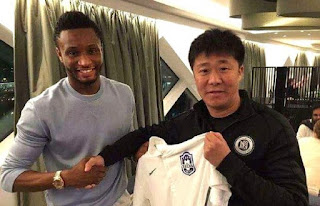 i'ill end my career in chine - Mikel Obi