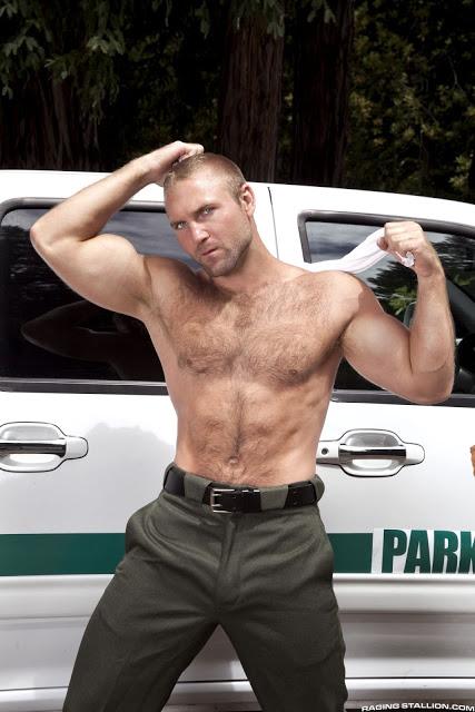 Gay sex hairy park ranger