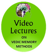 Video Lectures on Vedic Memory Methods