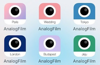 Download Full bộ Analog Film IOS cho Photoshop CC