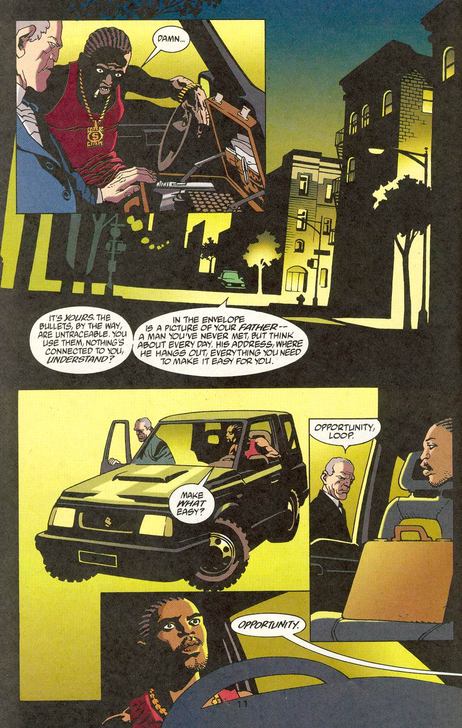 Read online 100 Bullets comic -  Issue #15 - 13