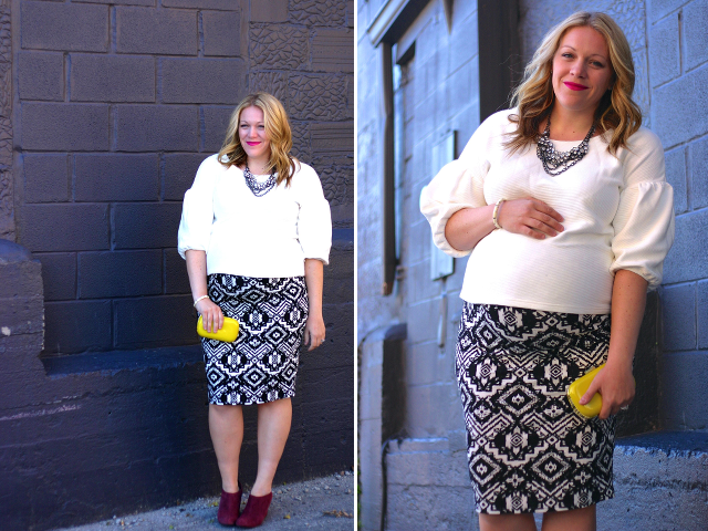 Pregnancy style blogger