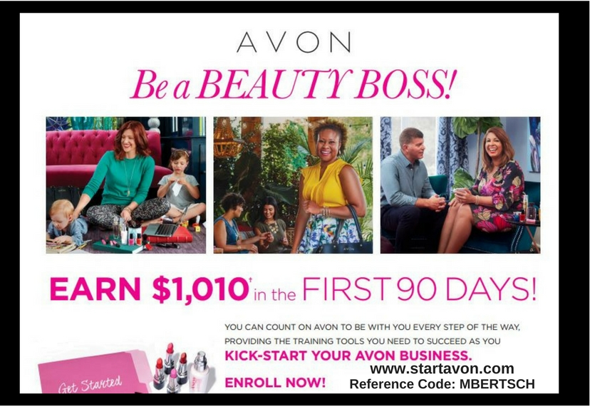 Sell Avon Earn Trip