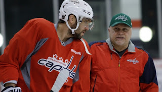 Coach Trotz left Washington after winning the Stanley Cup