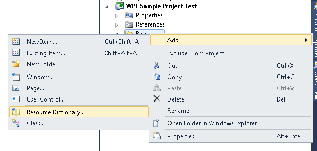 Hub of Computer Tricks and Programming: WPF How to use Resource