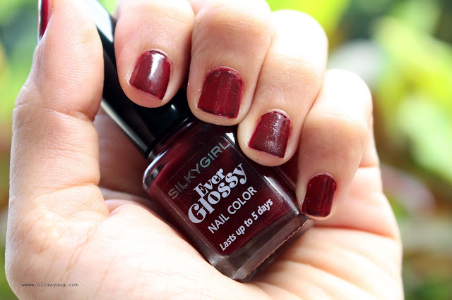 Hasil-silkygirl-ever-glossy-nail-color-royal-ruby