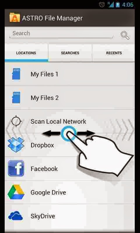Astro File Manager v2.3 for Android
