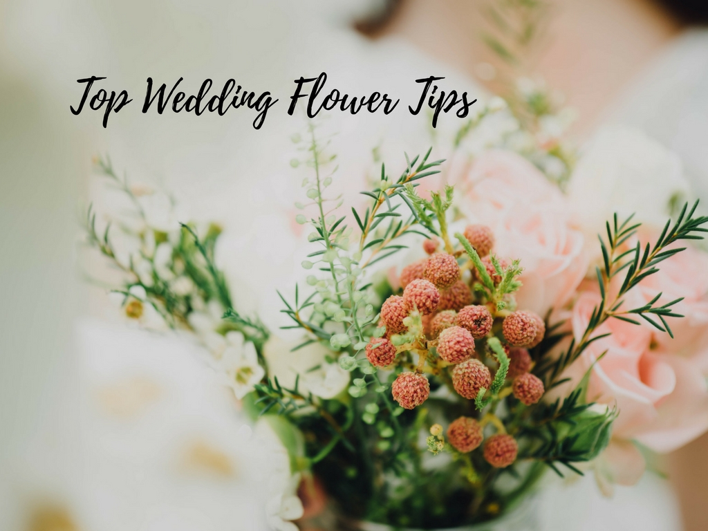 Top Wedding Flower Tips