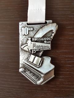 Medal Bieg Ulicą Piotrkowską - Rossmann Run