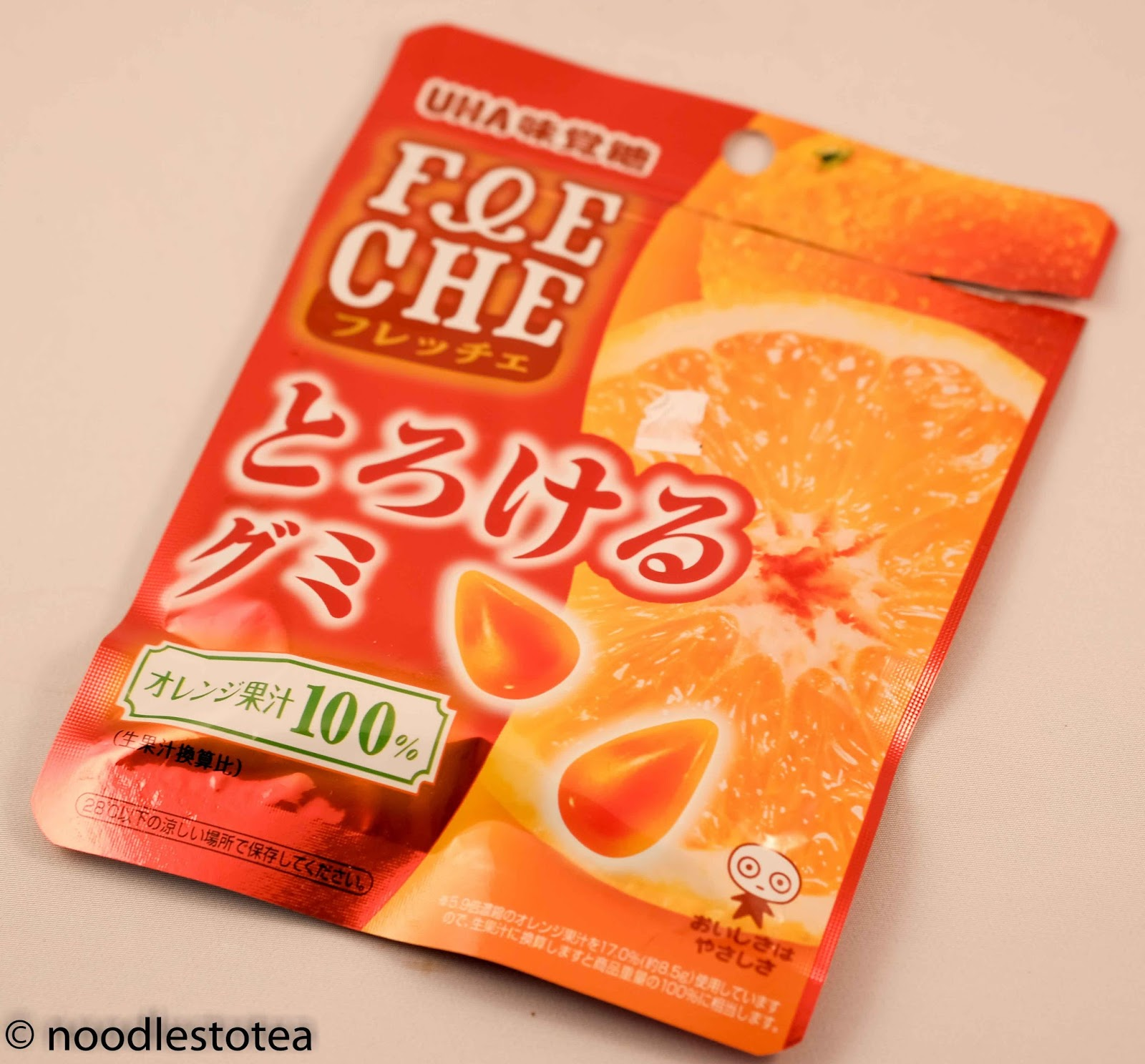 Noodles To Tea: UHA F&E CHE Orange