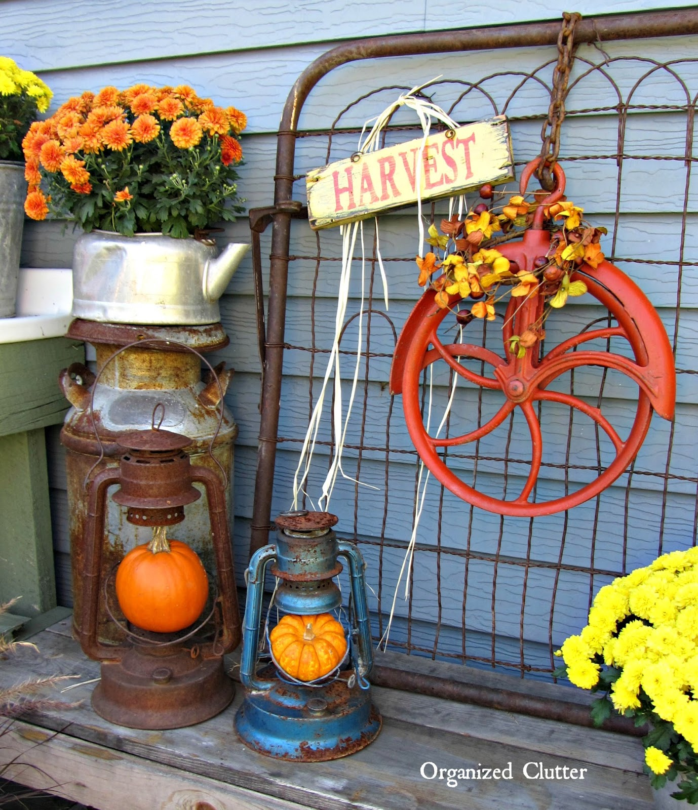 Autumn Yard Decorations: Fall Outdoor Decor: A SALVAGE STYLE Event