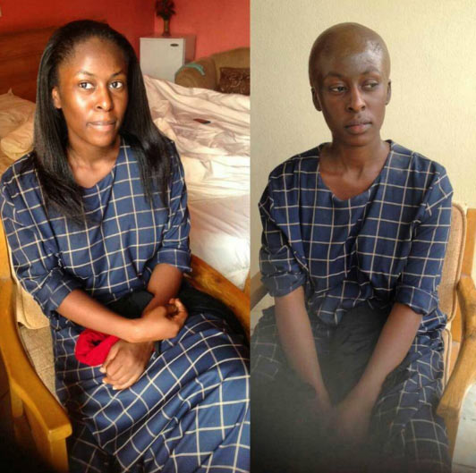 "Video: Nollywood actress uses special effect to go ""bald"""