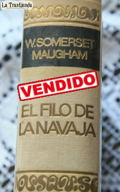 Libro - El Filo de la Navaja - Edición 1966 - William Somerset Maugham