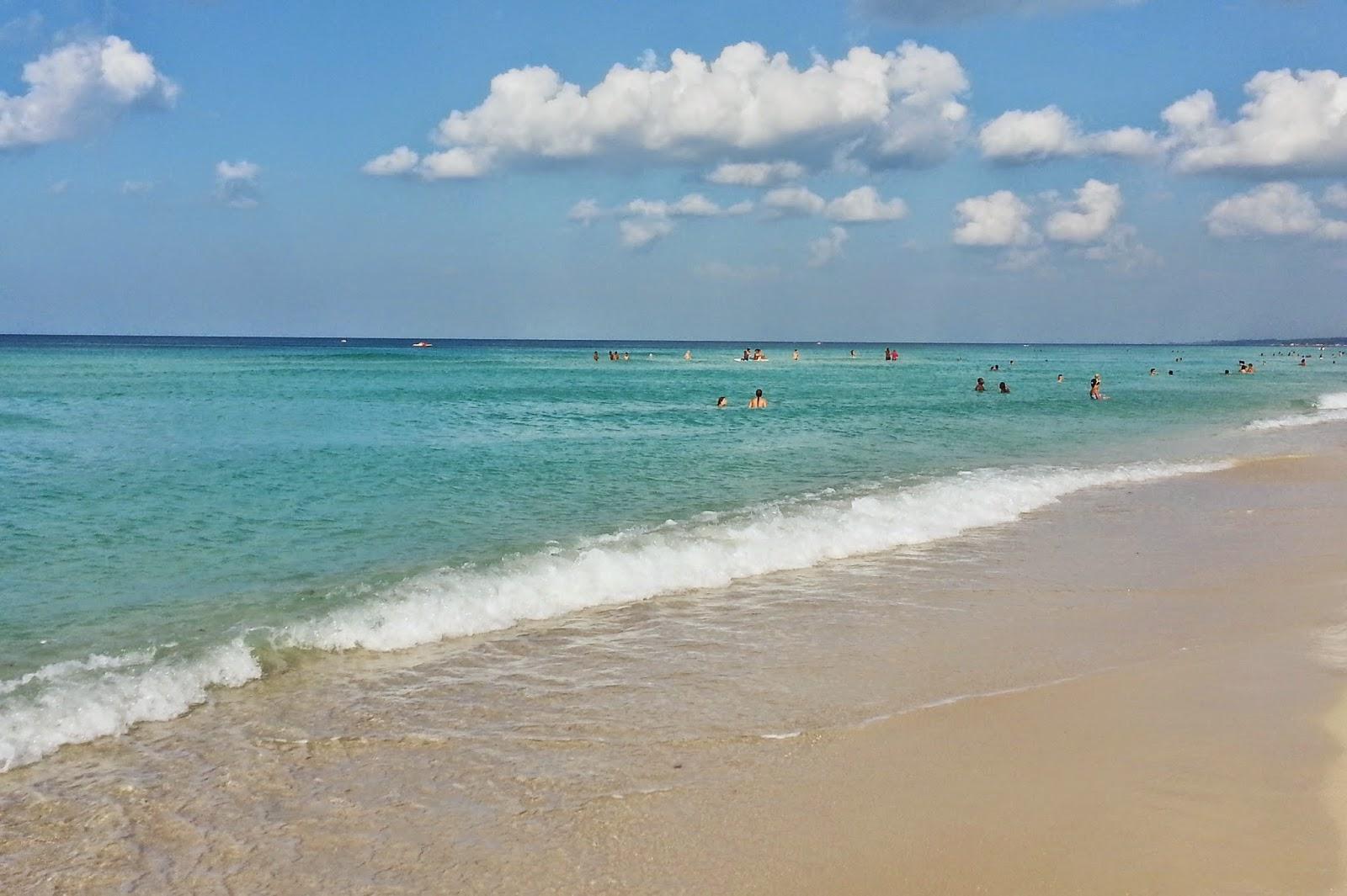 Playa Mar Azul, a preferida dos moradores de Havana.