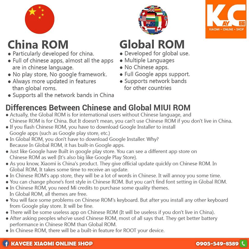 Global vs. Chinese MIUI ROM: What's the difference?