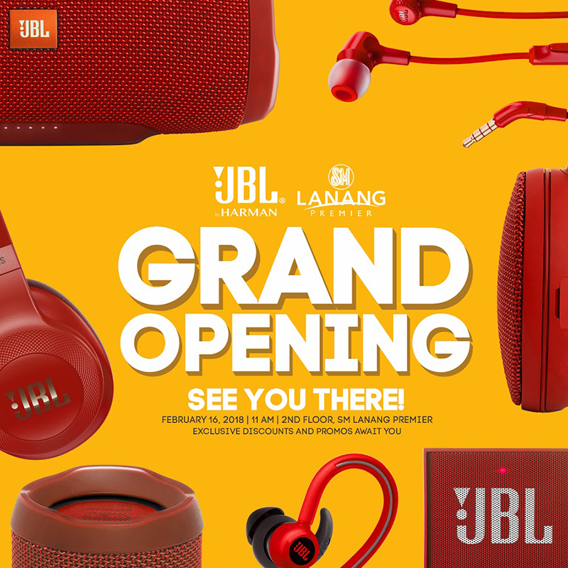 JBL opens first store in SM Lanang Davao City, one day sale announced
