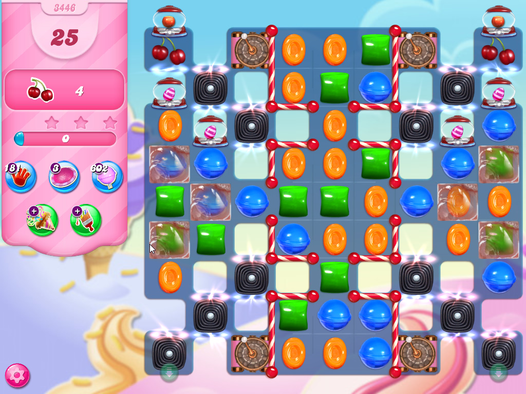 Candy Crush Saga level 3446