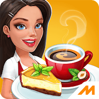 My Cafe: Recipes & Stories - VER.2017.3.1 Infinite (Gems - Crystals) MOD APK