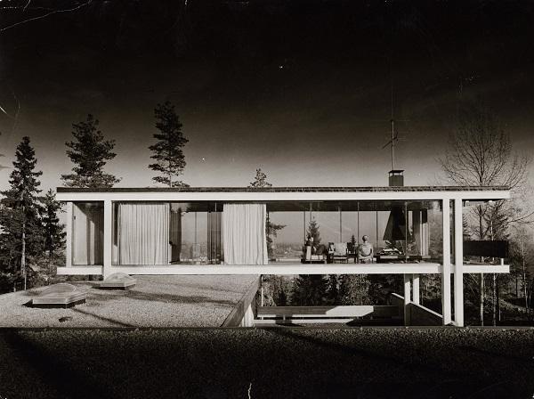 """Geir Grung, """"Own house at Jongskollen"""", 1963. Photo Bjørn Winsnes"""