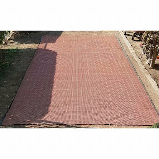 Greatmats patio outdoor tiles over uneven ground