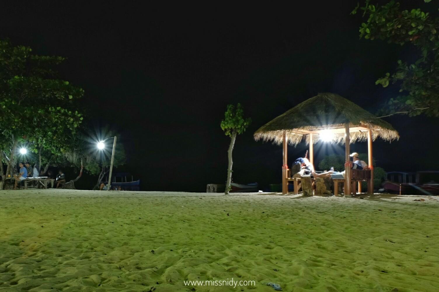 biaya camping di pulau pari