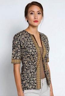 model baju batik tahun 2019