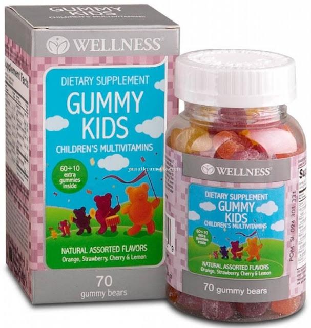 Wellness Calcium Gummy Mengatasi Kekurangan Kalsium Pada Anak