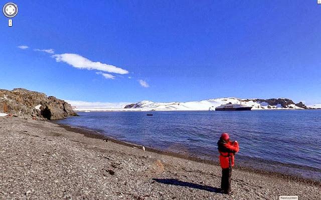 los lugares más remotos de Google Street View