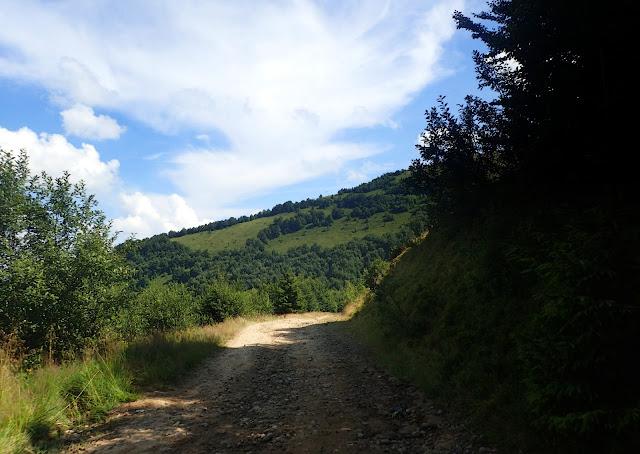 Droga w dół - Borżawa - Pilipiec