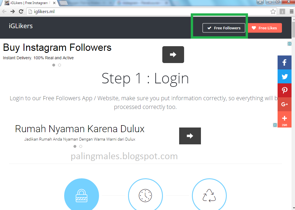 Dogecoin 4 free instagram followers : Safari icon with monitor drivers